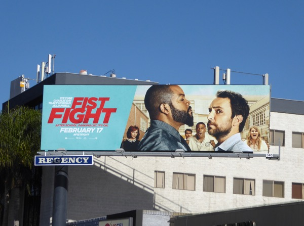 Fist Fight film billboard