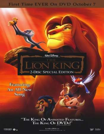 The Lion King 1994 Hindi Dual Audio BRRip Full Movie Download