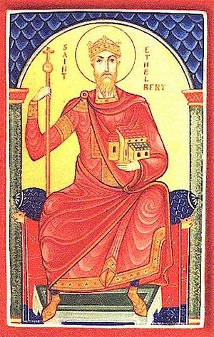 Holy Righteous Æþelberht of Kent, King and Confessor