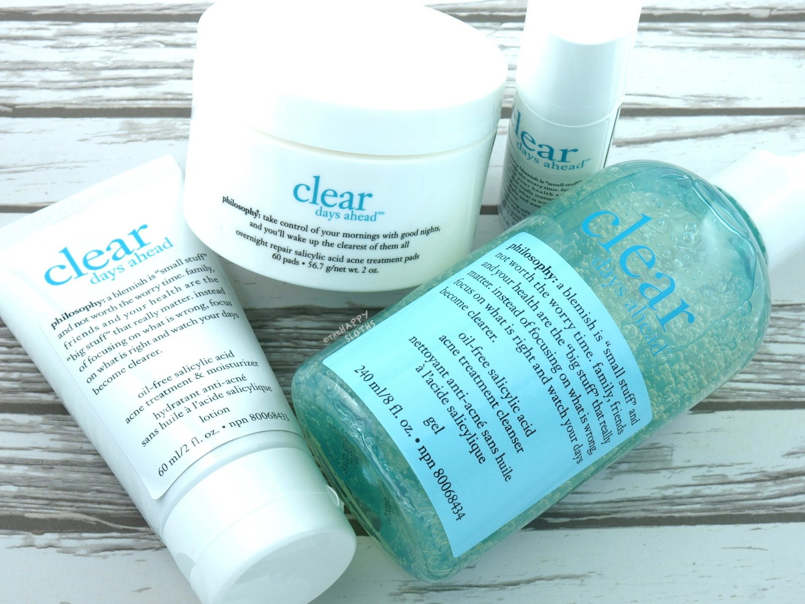 Philosophy Clear Days Ahead Acne Treatment Collection: Review