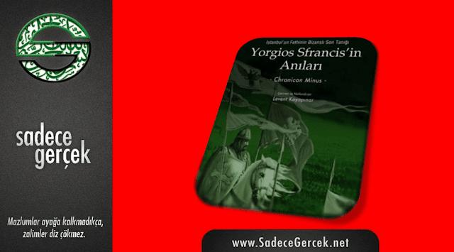"""Kitap tavsiyesi: """"Yorgios Sfrancis'in Anıları"""""""