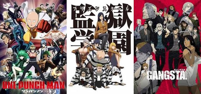 22 Anime Seinen Terbaik yang Paling Seru dan Keren, anime seinen terbaik terkeren paling seru