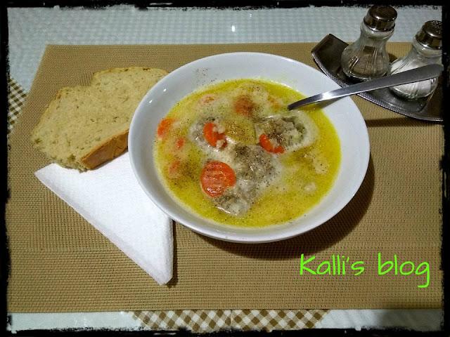 Γιουβαρλάκια αυγολέμονο Kalli's blog