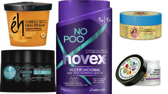 mascaras low poo com oleo de coco