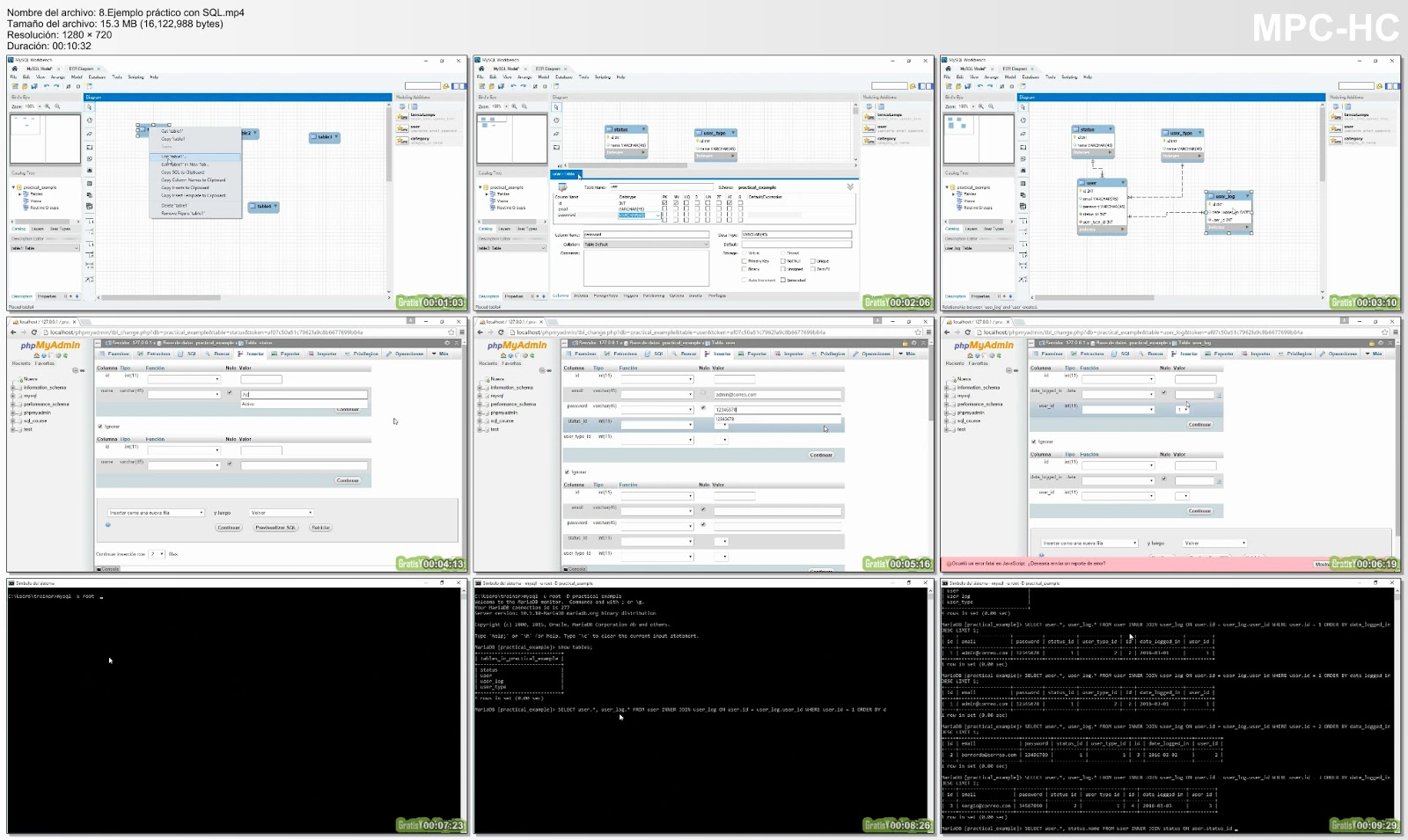 Fundamentos de SQL video2brain