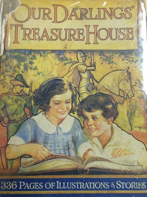 Cover of Our Darlings' Treasure House edited by Alexander Watson,1936.