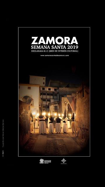 Cartel de la Semana Santa Zamora 2019