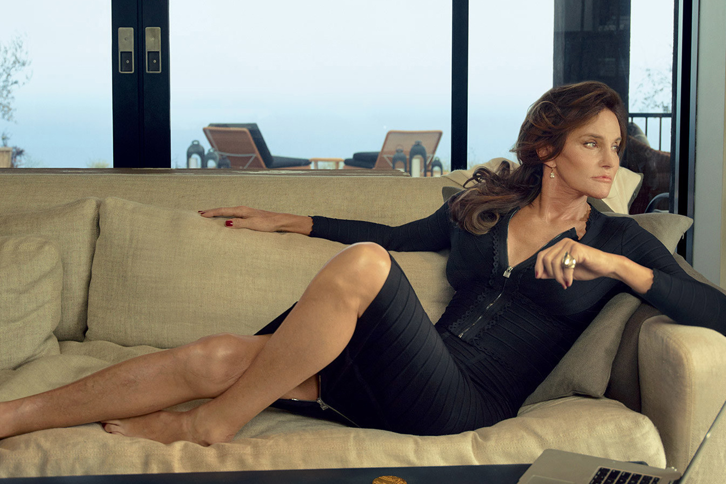 Why Caitlyn Jenner Thinks It's Cute Being Barred