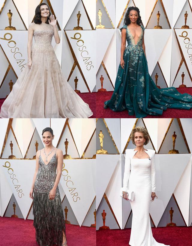 Os melhores looks do Oscar 2018