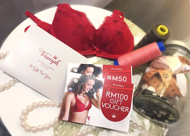 Triumph Gift Vouchers, The Best Gift She will Need this Valentines