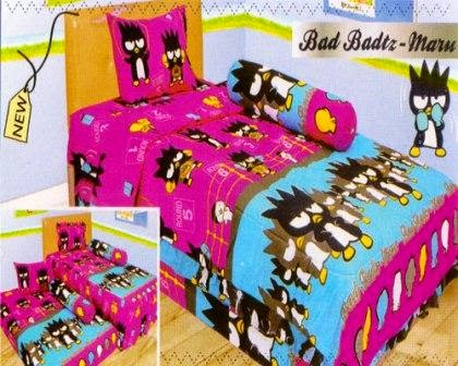Sprei internal motif Bad Badtz - Maru