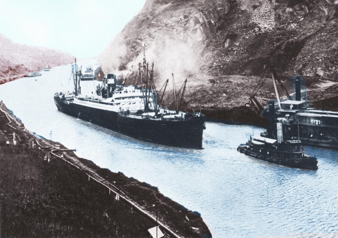 Resultado de imagen para Fotos del vapor estadounidense de pasajeros y carga Ancón,