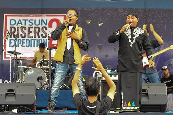 Meriahkan Datsun Galak Loen, The Praak Band Hentak Blang Padang
