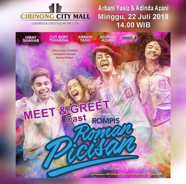 Meet & Greet Roman Picisan The Movie 2018