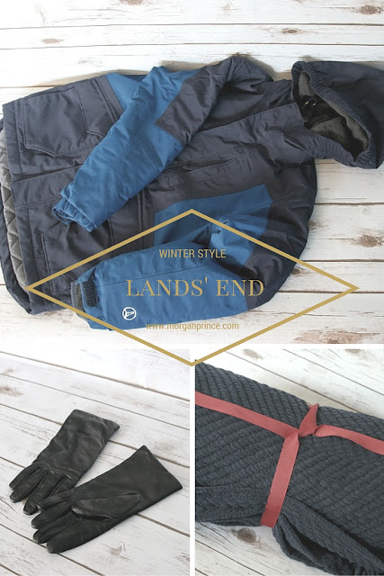 Lands' End Winter Style | Morgan's Milieu: Check out Lands' End for some brilliant quality winter wear, it'll last years!