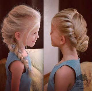 model gaya rambut anak perempuan di ikat