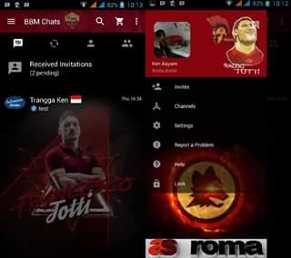 BBM Mod AS Roma 3.0.0.18 Terbaru