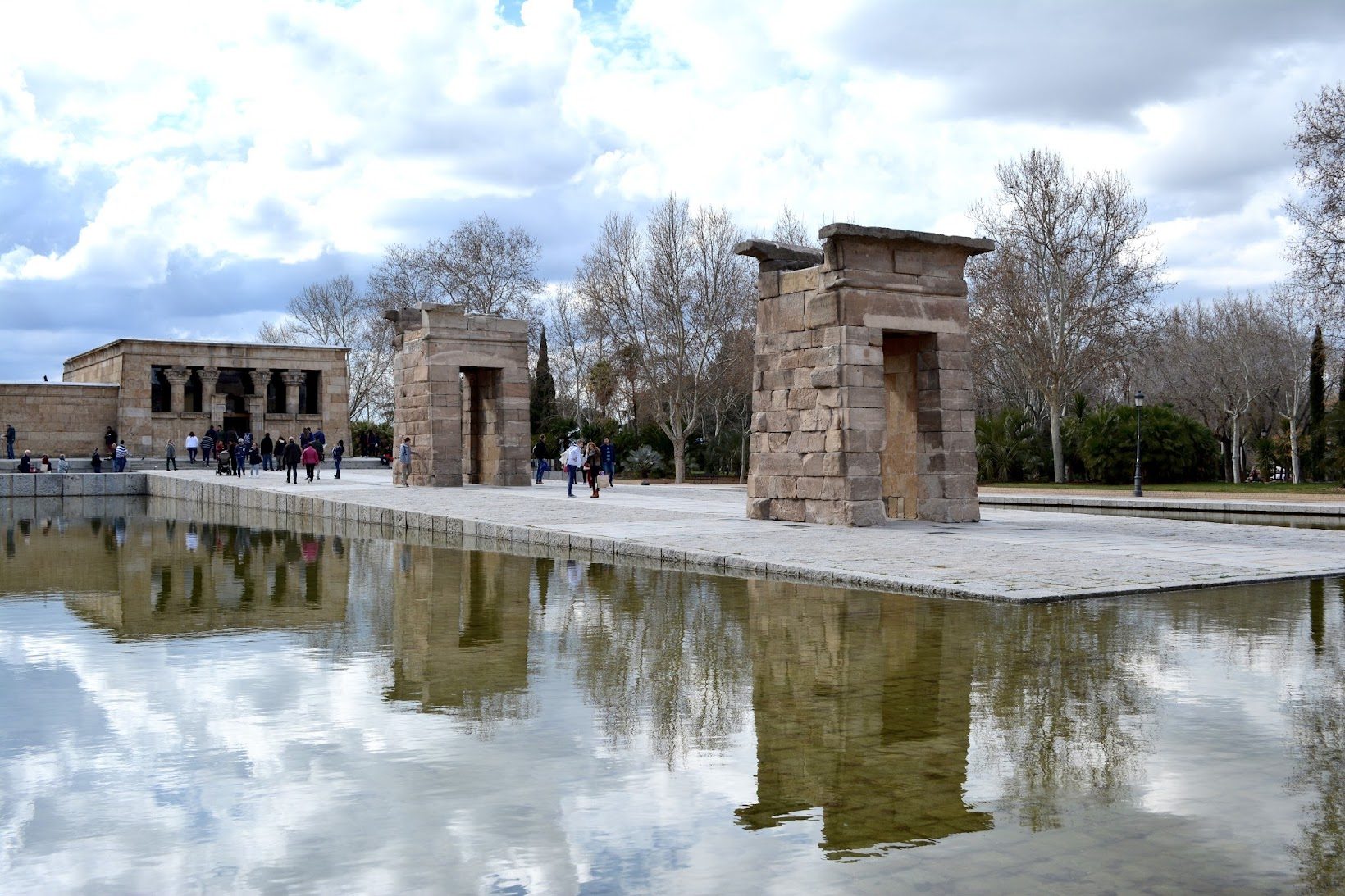 Templo de Debod, Madrid parks, parques de Madrid