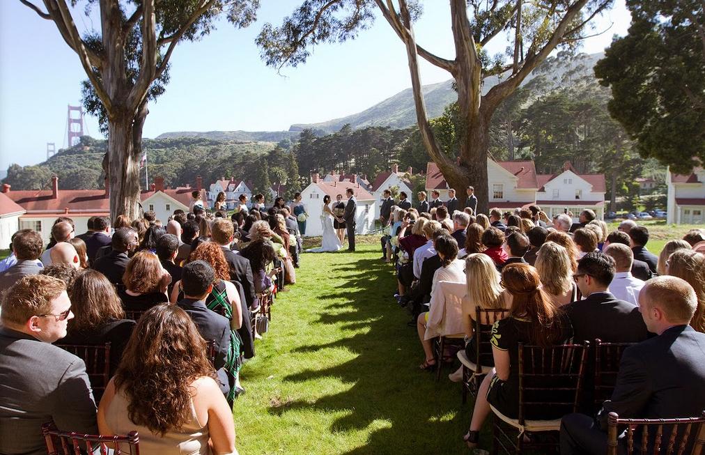 Cavallo Point Lodge Wedding Venue