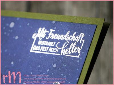 Stampin' Up! rosa Mädchen Kulmbach: Stamp A(r)ttack Blog Hop: Freundschaft – Weihnachtskarte mit Leuchtende Weihnachten und Weihnachtswerkstatt