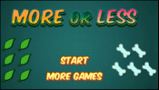 Cool Math Games | More or Less
