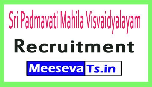 Sri Padmavati Mahila Visvaidyalayam SPMVV Recruitment