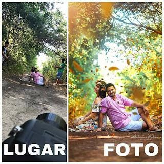 Detrás de cámara de fotos asombrosas