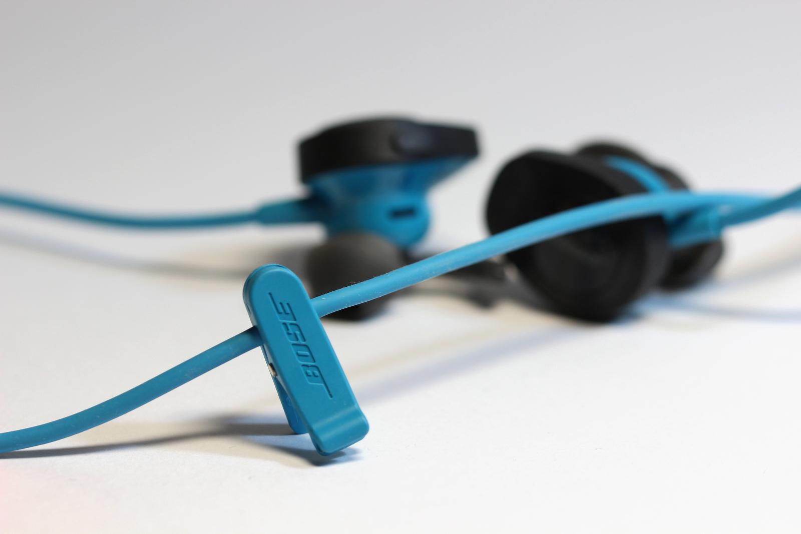 Kabelclip des Bose SoundSport Wireless