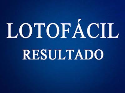 Lotofácil Concurso 1763 resultado segunda-feira