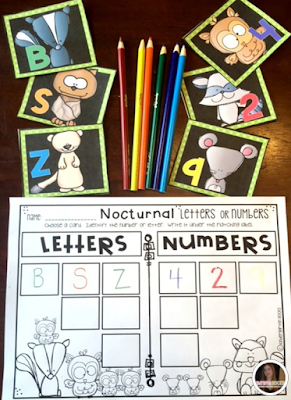 October Math and Literacy Centers is packed full of fun centers that will keep children busy all fall long.  It ties into the common core, but more importantly is developmentally appropriate.  The boys and girls will love all of the fun colorful graphics!