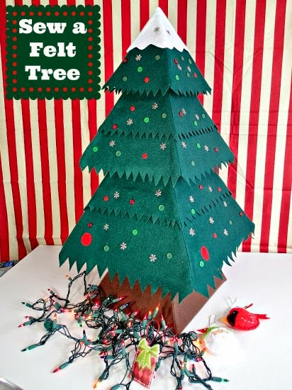 Sew a Felt Tree by So Sew Easy