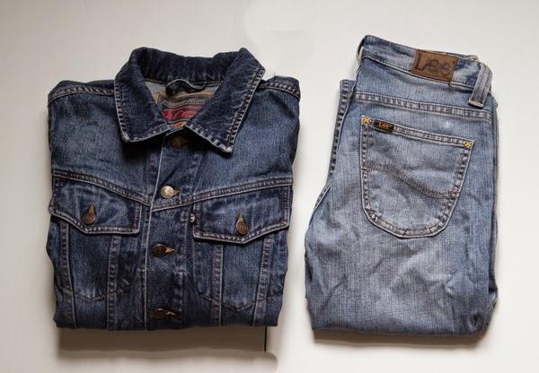 PauMau 40+ nelkytplus blogi farkkutakki farkkurotsi farkut lee sininen jeans jacket blue valokuvaus photography