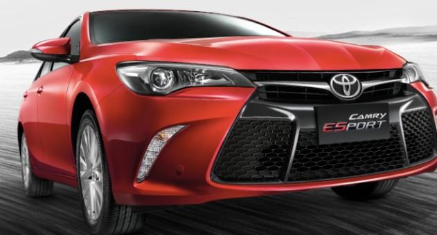 2019 Toyota Camry Exterior Rumors