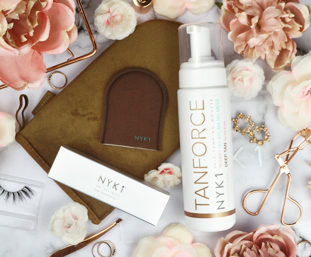 NYK1 Lash Force and Tan Force Fake Tan Review, Lovelaughslipstick Blog