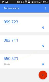 Hasil keluaran Berbasis Waktu | Tutorial - Cara mengaktifkan Google Authenticator di Hashnest