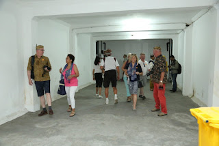 para penumpang kapal Rotterdam saat berkunjung di surabaya