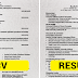 Differences Between A CV And A Resume