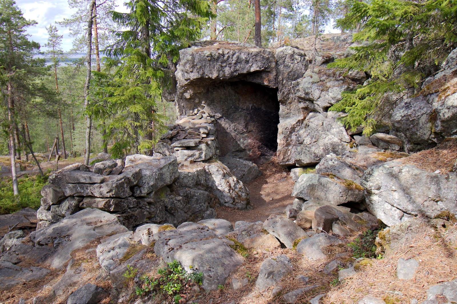 Jaakko Reipakan asumus, Pyhävuori, Alajärvi