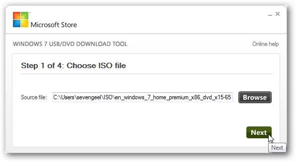 ผลการค้นหารูปภาพสำหรับ Windows USB/DVD Download Tool