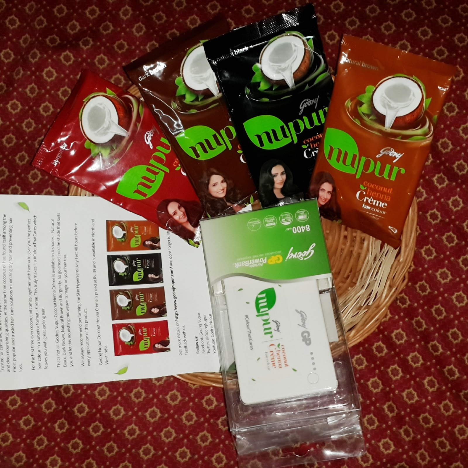 Nupur Henna: All The Rage: Review : Godrej Nupur Coconut Henna Creme