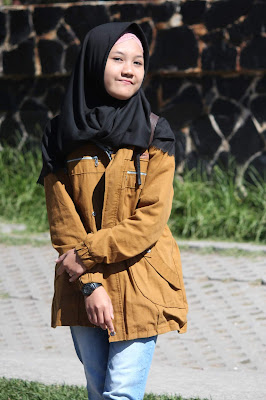 Jadi Baru Kebumen 2018 Tour To Bandung, Best Momen- foto di depan tulisan kawah putih