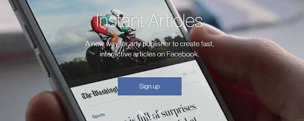 Cara Mendapatkan Uang Melalui Facebook Instant Articles