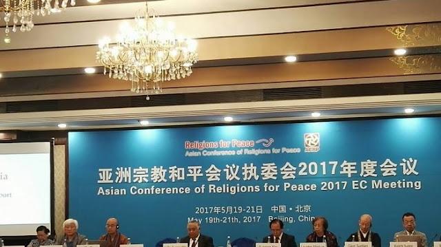 Pimpin Delegasi Tokoh Lintas Agama, Din Syamsuddin Temui Petinggi China