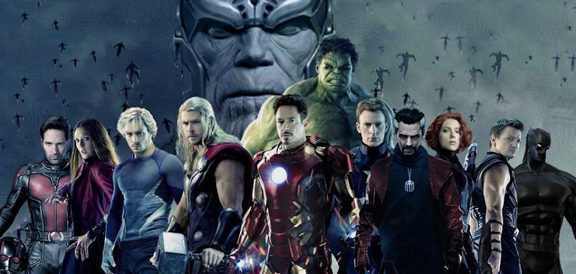 The Avengers şi titanul Thanos