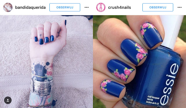 niebieskie paznokcie zdjęcia