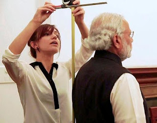 narendra modi statue at madame tussauds museum