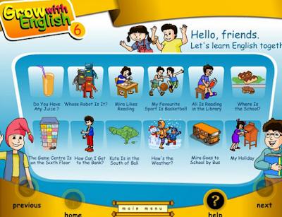 Kumpulan Media Animasi Pembelajaran Bahasa Inggris