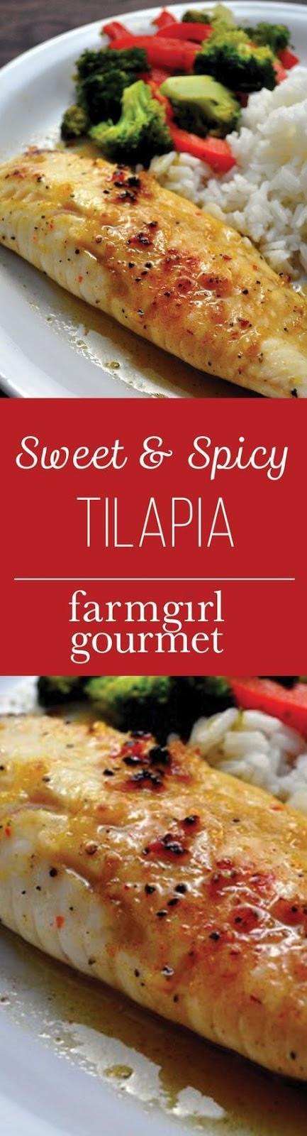 Sweet & Spicy Tilapia