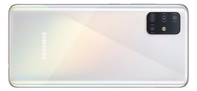 تصميم هاتف سامسونغ غالاكسي A51: