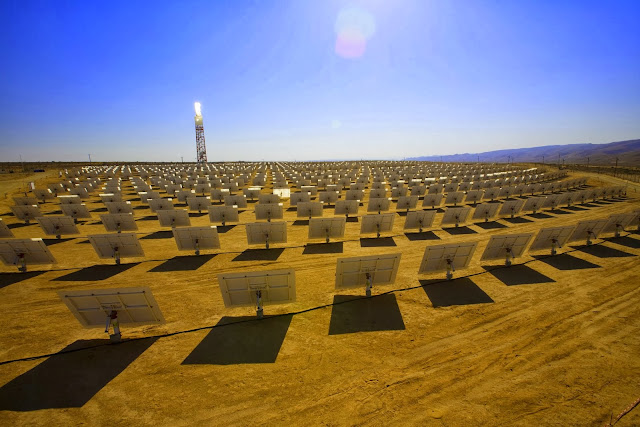 Ivanpah Solar Thermal Farm